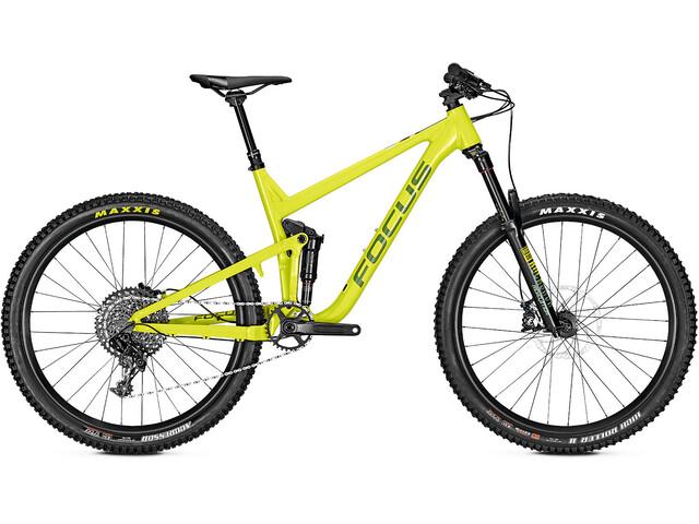 FOCUS Jam 6.8 Seven MTB Fullsuspension grøn (2019) | Mountainbikes
